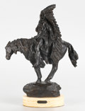 Sculpture, HARRY ANDREW JACKSON (American, b. 1924). Washakie II, 1981. Bronze with patina. 21 x 16 x 6-1/2 inches (53.3 x 40.6 x 1...