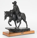 Sculpture, HARRY ANDREW JACKSON (American, b. 1924). Safe and Sound, 1982. Bronze with patina. 22 x 23 x 10-1/2 inches (55.9 x 58.4...
