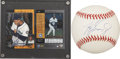 Autographs:Others, Ken Griffey, Jr. UDA Single Signed Baseball and Card. ...