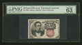 Fractional Currency:Fifth Issue, Fr. 1266 10¢ Fifth Issue PMG Choice Uncirculated 63 EPQ....