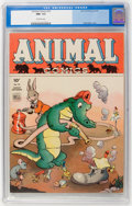 Golden Age (1938-1955):Funny Animal, Animal Comics #10 (Dell, 1944) CGC NM- 9.2 Off-white pages....