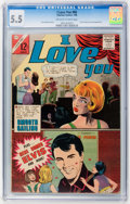 Silver Age (1956-1969):Romance, I Love You #60 (Charlton, 1966) CGC FN- 5.5 Off-white to whitepages....