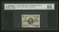 Fractional Currency:Third Issue, Fr. 1238 5¢ Third Issue PMG Choice Uncirculated 64 EPQ....