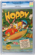 Golden Age (1938-1955):Funny Animal, Hoppy the Marvel Bunny #4 (Fawcett, 1946) CGC VG/FN 5.0 Cream tooff-white pages....