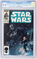 Modern Age (1980-Present):Science Fiction, Star Wars #92 (Marvel, 1985) CGC NM/MT 9.8 White pages....