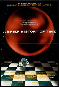 "A Brief History of Time (Triton, 1991). One Sheet (27"" X 40"") SS. Documentary"