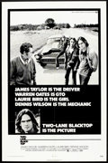 "Movie Posters:Cult Classic, Two-Lane Blacktop (Universal, 1971). One Sheet (27"" X 41""). CultClassic.. ..."