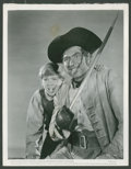 "Movie Posters:Adventure, Treasure Island (RKO, 1950). Keybook Stills (2) (8"" X 10"").Adventure.. ... (Total: 2 Items)"