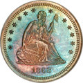 Proof Seated Quarters, 1868 25C PR66 NGC....
