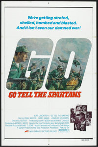 """Go Tell the Spartans (Avco Embassy, 1978). One Sheet (27"""" X 41""""). War"""
