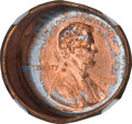 Errors, 1998 1C Lincoln Cent--Obverse Die Cap--MS66 Red NGC....