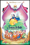 "Movie Posters:Animated, Snow White and the Seven Dwarfs (Buena Vista, R-1993). One Sheet(27"" X 40"") DS. Animated.. ..."