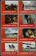 """Movie Posters:War, Von Richthofen and Brown (United Artists, 1971). Lobby Card Set of8 (11"""" X 14""""). War. Starring John Phillip Law, Don Stroud...(Total: 8)"""