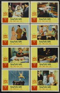 "Movie Posters:Comedy, Rock-a-Bye Baby (Paramount, 1958). Lobby Card Set of 8 (11"" X 14""). Comedy. Starring Jerry Lewis, Marilyn Maxwell, Connie St... (Total: 8)"