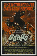 """Movie Posters:Science Fiction, Gorgo (MGM, 1961). One Sheet (27"""" X 41""""). Science Fiction. StarringBill Travers, William Sylvester, Vincent Winter, Bruce S..."""
