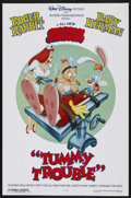 "Movie Posters:Animated, Tummy Trouble (Buena Vista, 1989). One Sheet (27"" X 41"") DS.Animated Short. Starring the voices of Charles Fleischer, April..."