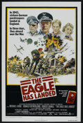 "Movie Posters:War, The Eagle Has Landed (Columbia, 1976). One Sheet (27"" X 41""). War.Starring Michael Caine, Donald Sutherland, Robert Duvall,..."