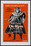 "Movie Posters:Adventure, Dr. Syn Alias The Scarecrow (Buena Vista, R-1972). One Sheet (27"" X41""). Adventure. Starring Patrick McGoohan, George Cole,..."