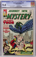 Silver Age (1956-1969):Science Fiction, Journey Into Mystery #101 (Marvel, 1964) CGC NM 9.4 Off-whitepages....