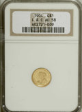 Commemorative Gold, 1904 G$1 Lewis and Clark AU58 NGC....