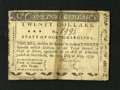 Colonial Notes:North Carolina, North Carolina May 15, 1779 $20 Very Good....