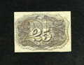 Fractional Currency:Second Issue, Fr. 1283SP 25c Second Issue Narrow Margin Face About New....