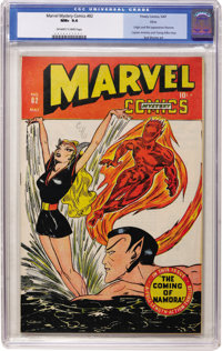 Marvel Mystery Comics #82 Ohio pedigree (Timely, 1947) CGC NM+ 9.6 Off-white to white pages
