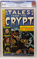 Golden Age (1938-1955):Horror, Tales From the Crypt #36 (EC, 1953) CGC NM 9.4 Off-white pages....