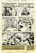 "Original Comic Art:Complete Story, Jack Kirby and Mike Royer - The Forever People #8, Complete 26-page Story ""The Power"" Original Art (DC, 1972). ... (Total: 26 Items)"