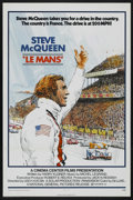 """Movie Posters:Sports, Le Mans (National General, 1971). One Sheet (27"""" X 41""""). Sports. Starring Steve McQueen, Siegfried Rauch, Elga Andersen, Ron..."""