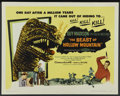 "Movie Posters:Science Fiction, The Beast of Hollow Mountain (United Artists, 1956). Half Sheet(22"" X 28""). Science Fiction. Starring Guy Madison, Patricia..."