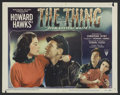 "Movie Posters:Science Fiction, The Thing From Another World (RKO, 1951). Lobby Card (11"" X 14"").Science Fiction. Starring Margaret Sheridan , Kenneth Tobe..."