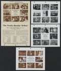 """Movie Posters:Serial, Republic Lot (Republic, 1950s). Press Pages (11"""" X 17"""" and 8"""" X 10""""). Serial. Directed by Various.... (Total: 48)"""