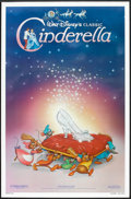 "Movie Posters:Animated, Cinderella (Buena Vista, R-1987). One Sheet (27"" X 41"") SlipperStyle. Animated.. ..."