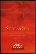 """Movie Posters:Animated, Mulan (Buena Vista, 1998). One Sheet (27"""" X 41"""") DS Advance. Animated.. ..."""