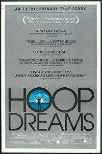 """Hoop Dreams (Fine Line Features, 1994). One Sheet (27"""" X 40"""") SS. Sports"""