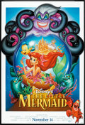 "Movie Posters:Animated, The Little Mermaid (Buena Vista, 1989). One Sheet (27"" X 40"") DSAdvance. Animated.. ..."