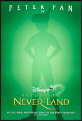 "Movie Posters:Animated, Return to Neverland (Buena Vista, 2002). One Sheet (27"" X 40"") DS Advance. Animated.. ..."