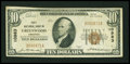 National Bank Notes:Arkansas, Greenwood, AR - $10 1929 Ty. 1 First NB Ch. # 10983. ...