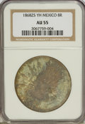 Mexico, Mexico: Republic Cap and Rays 8 Reales 1868Zs-YH,...