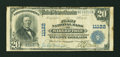 National Bank Notes:Arkansas, Marked Tree, AR - $20 1902 Plain Back Fr. 658 The First NB Ch. # 11122. ...