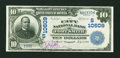 National Bank Notes:Arkansas, Fort Smith, AR - $10 1902 Date Back Fr. 623 The City NB Ch. # (S)10609. ...