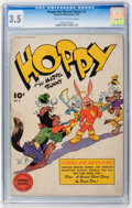 Golden Age (1938-1955):Funny Animal, Hoppy the Marvel Bunny #2 (Fawcett, 1946) CGC VG- 3.5 Light tan tooff-white pages....