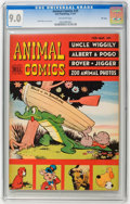 Golden Age (1938-1955):Funny Animal, Animal Comics #25 File Copy (Dell, 1947) CGC VF/NM 9.0 Off-whitepages....
