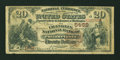 National Bank Notes:Pennsylvania, Philadelphia, PA - $20 1882 Brown Back Fr. 504 The Franklin NB Ch.# 5459. ...
