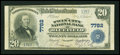 National Bank Notes:Virginia, Bluefield, VA - $20 1902 Plain Back Fr. 650 The Twin City NB Ch. #7782. ...