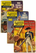 Golden Age (1938-1955):Classics Illustrated, Classics Illustrated First Edition Group (Gilberton, 1953-59) Condition: Average GD.... (Total: 12 Comic Books)