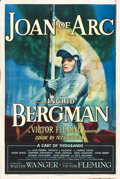 "Movie Posters:Drama, Joan of Arc (RKO, 1948). One Sheet (27"" X 41"") Style A.. ..."