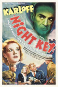 "Movie Posters:Crime, Night Key (Universal, 1937). One Sheet (27"" X 41"").. ..."