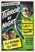 "Movie Posters:Mystery, Terror by Night (Universal, 1946). One Sheet (27"" X 41"").. ..."